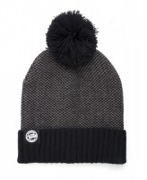 CZAPKA FOX CHUNK BOBBLE HATS GREY/BLACK MARL