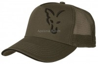 CZAPKA GREEN BLACK TRUCKER CAP FOX