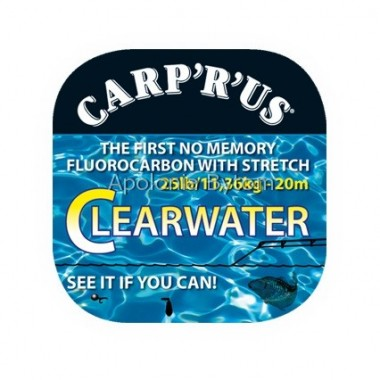 FLUOROCARBON CLEARWATER 25lb 20m CARPRUS