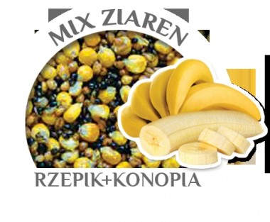 MIX ZIAREN BANAN 10kg WIADRO CARP OLD SCHOOL