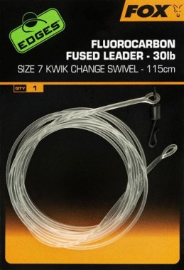 PRZYPON FLUOROCARBON FUSED KWIK CHANGE roz7 FOX