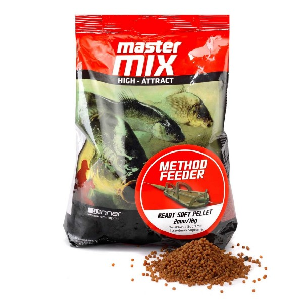 PELLET READY SOFT 2mm 1kg HOT KRILL WINNER