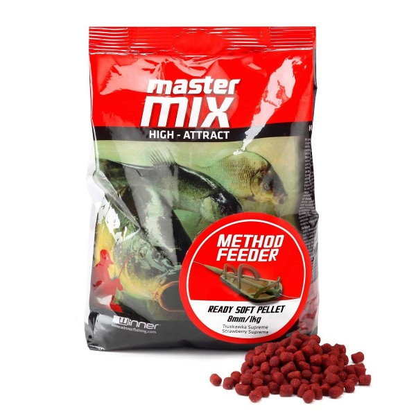 PELLET READY SOFT 8mm 1kg OCHOTKA WINNER